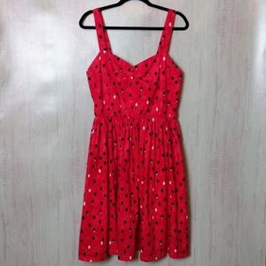 Lindy Bop red dress sz 14 retro vintage style